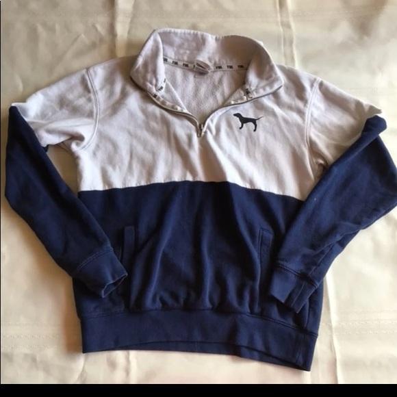 e2da9d3d53023 2 for 20 Victoria's Secret PINK xs zip sweater